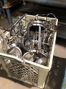 * large crate of coffe perculator frames Located at Grantham, NG32 2AG