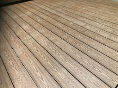 * 20 x Light Grey Decking Boards 2.9m x 140mm x 25mm