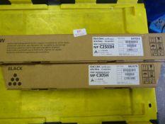 *Two Ricoh Printer Cartridges (black & yellow)