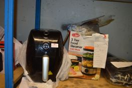 *Air Fryer and a Three Tier Food Steamer