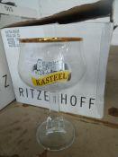 * 6 x Kasteel glasses 33cl