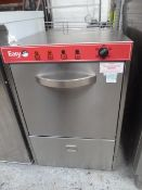 * Easy - compact glasswasher. 480w x 580d x 720h