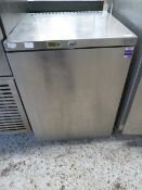 * Blizzard UCR05 S/S undercounter fridge. 600w x 600d x 820h