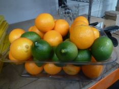 * Selection of artificial fruit