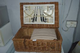 Picnic Hamper and Toaster