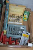 Router Bits and Drill Bits etc.