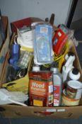 Tools and Hardware, Varnish, Wood Preservers, etc.