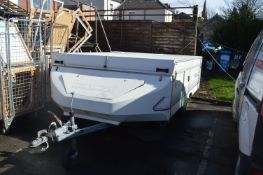 Conway Cardinal 6 Berth Trailer Tent with Awning & Fittings - AF