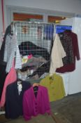 Cage of Ladies Clothing; Some New, Mainly Sizes: 8