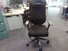*5 Boss Black Office Chairs