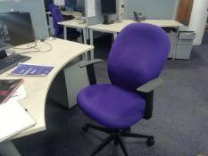 *5 Verco Office Chairs
