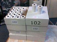 *8 x 20 thermal PDQ till rolls