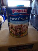 *11 x 800g Princes tuna chunks in brine