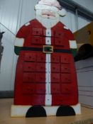 *wooden advent calendar with drawers for each day
