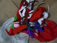 *selection of festive headbands and decorative bows