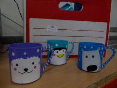 *small Christmas cups