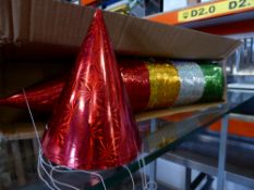 *12 x 12 party hats