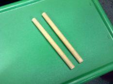 *sticks