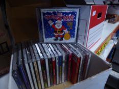 *selection of Christmas CD's