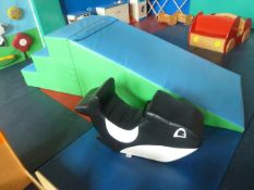 *foam slide and foam rocker. Slide - 1000w x 2800d x 800h
