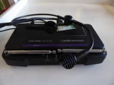* Audio - Technica portable headphone and microphone set