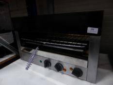 * Lincat electric salamander grill. 550w x 290d x 330h