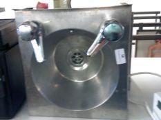 * S/S hand wash sink