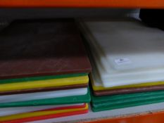 * 25+ chopping boards assorted colours