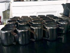 * 24 x S/S milk jugs