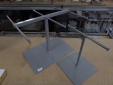 * 2 x counter top hanging display stands - 1 x 6 arm, 1 x 2 arm