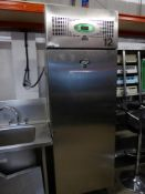 * Foster S/S upright freezer. 700w x 800d x 2060h