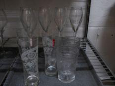 * 10 x assorted glasses