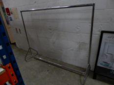 * S/S hanging rail 1830w x 470d x 1500h