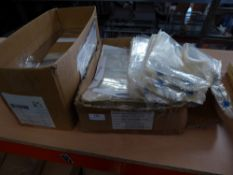 * selection of heat seal bags and sandwich packing wraps