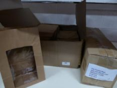* film fronted food bags