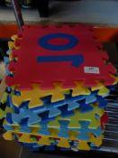 * 20 x interlocking foam pieces (each 250w x 250d)