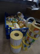* large selection of date labels - approx 50 x rolls