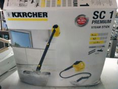 * Karcher SC1 premium steam stick cleaner