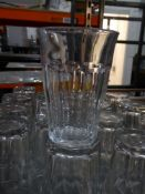 * 18 x rocks water glasses
