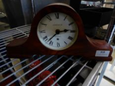 * small mantel clock