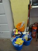 *Quantity of Cleaning Materials and Tools