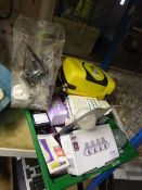 *Mixed Lot Including First Aid Kits, Assorted Light Bulbs and Door Furniture