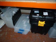 *Quantity of Plastic Storage Boxes (AF)