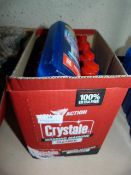 *10x 500ml Bottles of Crystale Washing Machine Cle