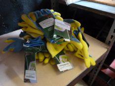 *8 Pairs of Kingfisher Gardening Gloves