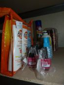 *Quantity of Toiletries and Cosmetics Including Do