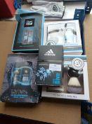 *Two Shaving Brush Gift Sets, Adidas Eau De Toilet