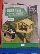 *Bird Table with Built In Feeder