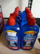 *12x 500ml Bottles of Crystale Washing Machine Cle