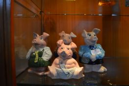 Four Wade Natwest Piggy Bank